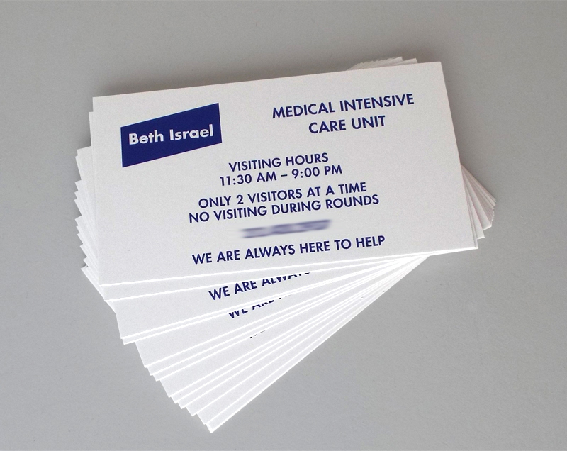 Diverse printing graphics new york city business cards for Business card colors